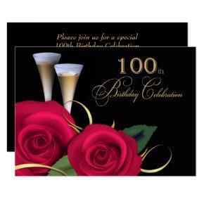 100th Birthday Celebration Custom