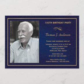 100th Birthday Party  with photo
