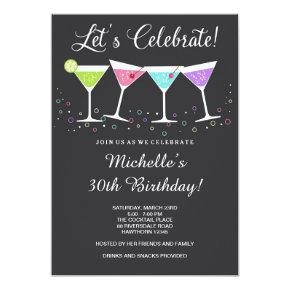 30th Birthday Invitations / Adult Birthday Invite