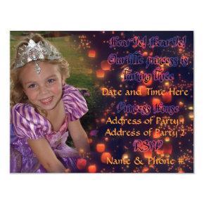 3 Year Old Princess Birthday Invitations