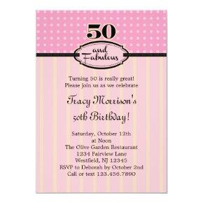 Fabulous 50 birthday invitations candied clouds 50 and fabulous birthday invitations filmwisefo