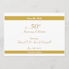 50th Birthday/Anniversary Save the Dates Save The Date