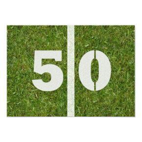 50th Birthday Party! Invitation