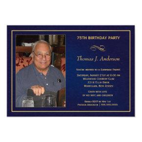 75th Birthday Party  - Add your photo