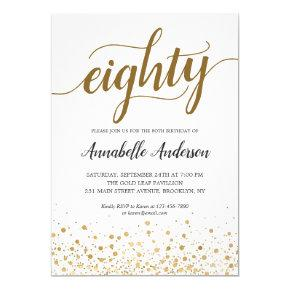 Script Birthday Invitations – Candied Clouds