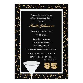 85 years birthday invitations candied clouds 85th birthday party 85 and confetti filmwisefo