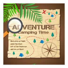 Adventure Camp Invitation
