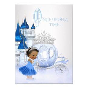 African American Cinderella Princess Birthday Invitation