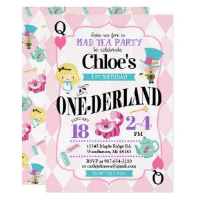 Alice in Wonderland 1st Birthday