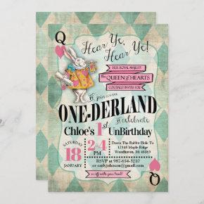Alice in Wonderland 1st Birthday