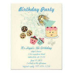 Magical day birthday invitations candied clouds anime magical days invitations birthday party filmwisefo