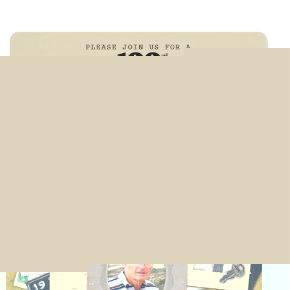 Antique Collage | Masculine 3 Photo Custom Year Card