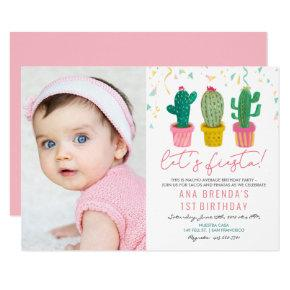 ANY AGE - Fiesta Cactus Birthday Invitation