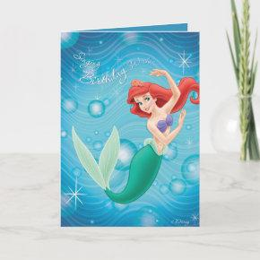 Ariel Birthday Invitations Disney
