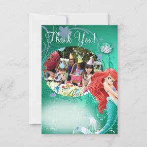 Ariel Birthday Thank You Invitations