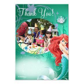 Ariel Birthday Thank You Cards