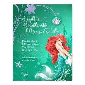 Ariel | The Little Mermaid Birthday Invitations