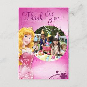 Aurora Birthday Thank You Invitations
