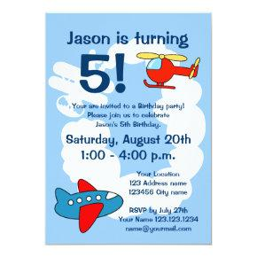 Aviation theme Birthday party  for kids