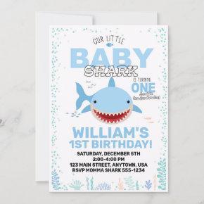 Baby Shark 1st Birthday