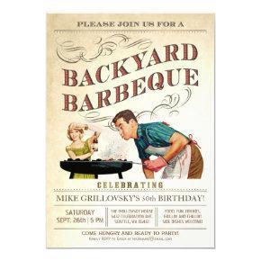 Backyard BBQ  | Vintage Classic V.3