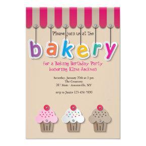 Bakery Invitation