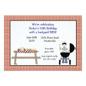 Barbeque Time Invitations