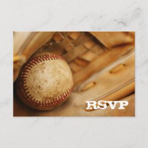 Baseball Themed RSVP