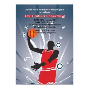 Basketball Pro Invitation
