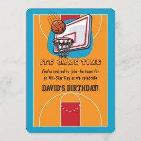 Basketball Themed Birthday