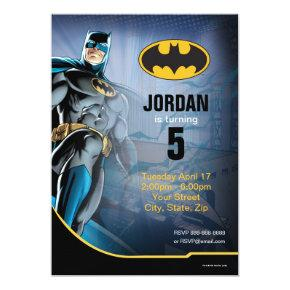 Batman   Happy Birthday Card