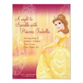 Belle Birthday Invitations