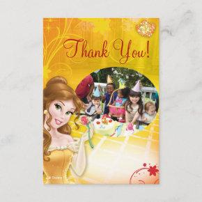 Belle Birthday Thank You Invitations