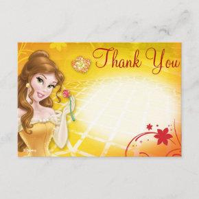Belle Thank You Invitations