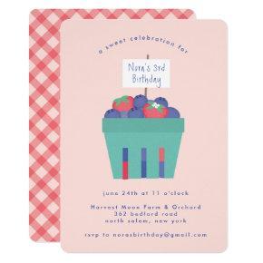 Berry Sweet Invitation