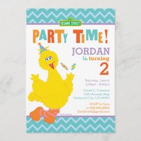 Big Bird Birthday Invitation