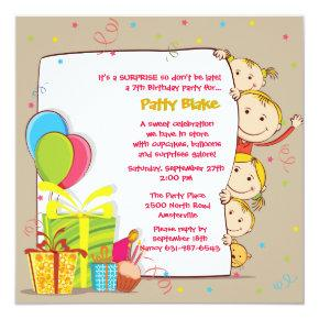Birthday Family Invitation