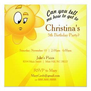 Birthday invite Invitations