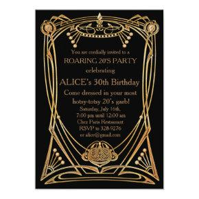 Birthday Party Invitation Any age