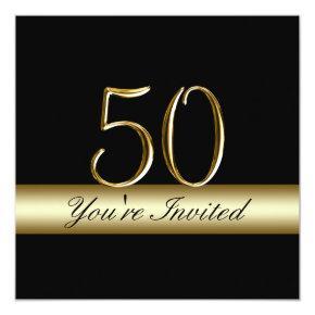 Metal silver green mens 40th birthday party man invitations black metal gold print 50th birthday invitations filmwisefo