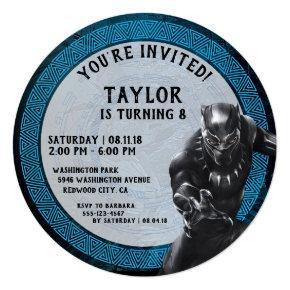 Black Panther | Wakandan Tribe Birthday Invitation