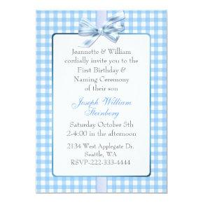 Naming Ceremony Birthday Invitations – Candied Clouds