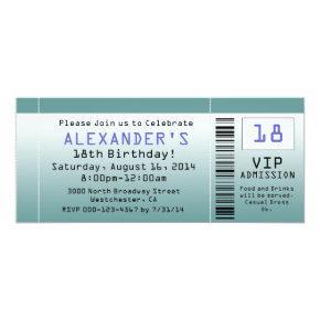 BlueGreen Ticket