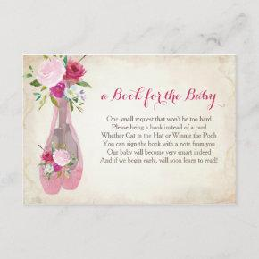 Book For The Baby, Pink Ballet Insert