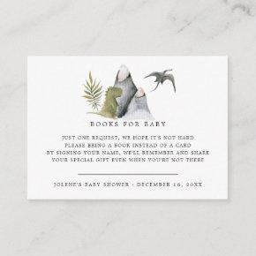 Book Request | Little Dinosaur Baby Shower Enclosure