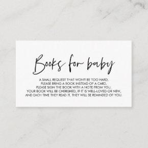 Books for the baby, Modern Minimal font Enclosure