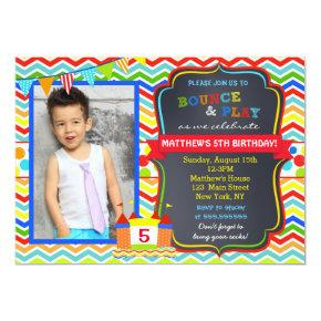 Bounce House Photo Birthday Party