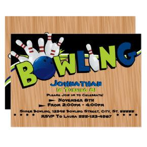 Bright & Fun Bowling Birthday