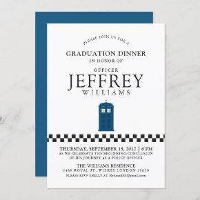 British Police Graduation Party | Announcement