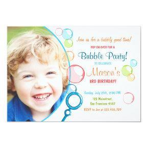 Bubble birthday party invitations pop birthday boy candied clouds bubble birthday party invitations pop birthday boy filmwisefo